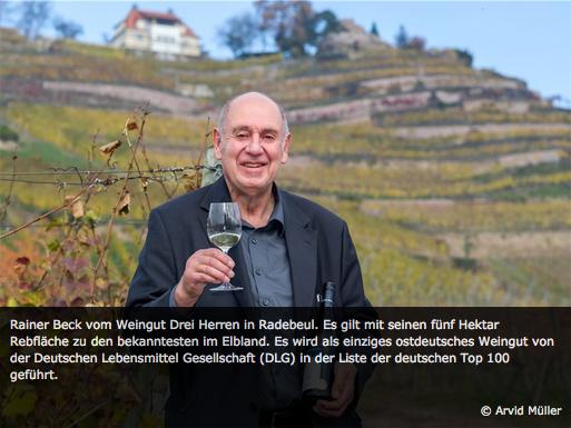Rainer BEck vom Weingut Drei Herren