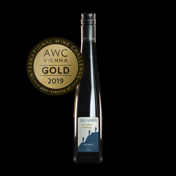 Weingut DREI HERREN Auslese Muskateller AWC Vienna Gold 2019